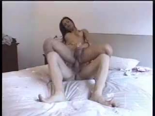 Randy Stud Smashing & Creaming Hot Brunette Sexy innocent nude babes first blowjob