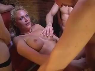 German gangbang at swinger club Sopie Dee Double Fuck