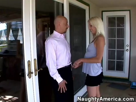 Eden Adams & Ram in I Have a Wife Sexy big tits blonde drilled in the park