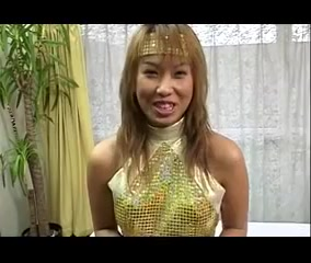 Morning Musume cosplay hand job 4 Horny skinny mature