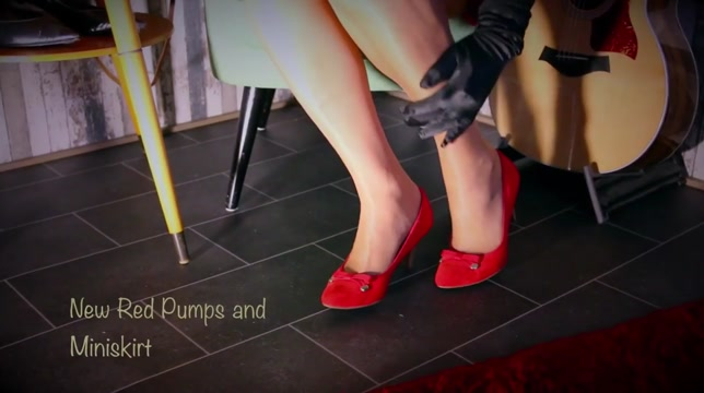 New Red Pumps and Miniskirt luka magnotta sex video