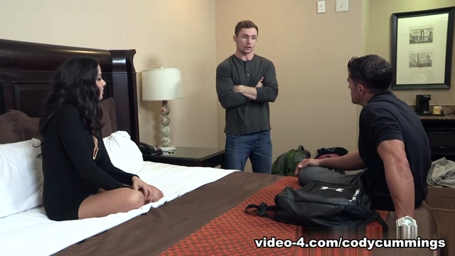Lola Castillo & Cody Cummings & Markie More in Path of Seduction XXX Video Black models strip on cell phone