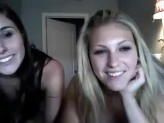 The 2 hottest girls of my class on webcam cute amateur teen blonde sucking big dildo in webcam porn tube 2