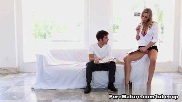 Tanya Tate in Hot Teacher - PureMature Video auto erotic sex act
