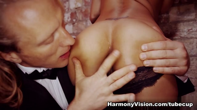 Alyssa Divine in Hot Wax - HarmonyVision Bdsm show in philadelphia