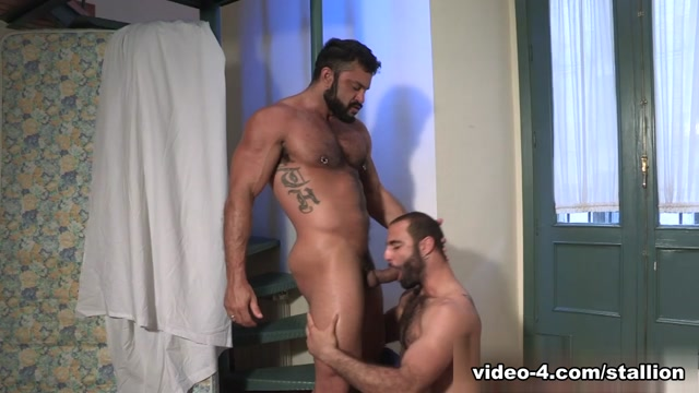 Rogan Richards & Paco in The Tourist Video hot naked wrestling nude