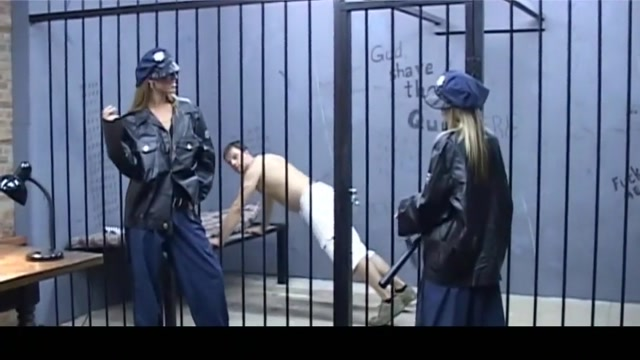 Lucky prisoner fucked by two shameless guardian babes sexy maori girl sex