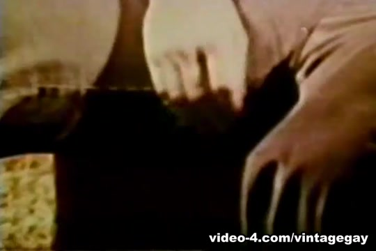 VintageGayLoops Video: Alans Solo Stroke Horny brunette babe with great curves