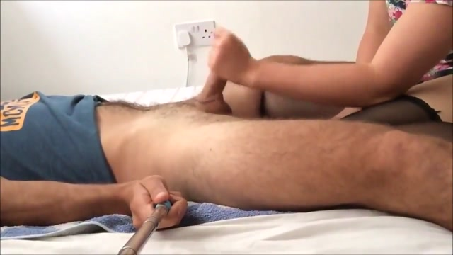 Couple strapon prostate selfie movie