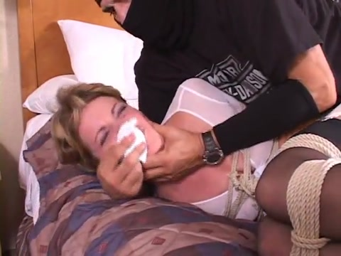 Tied up in her girdle Free gay twink bondage video