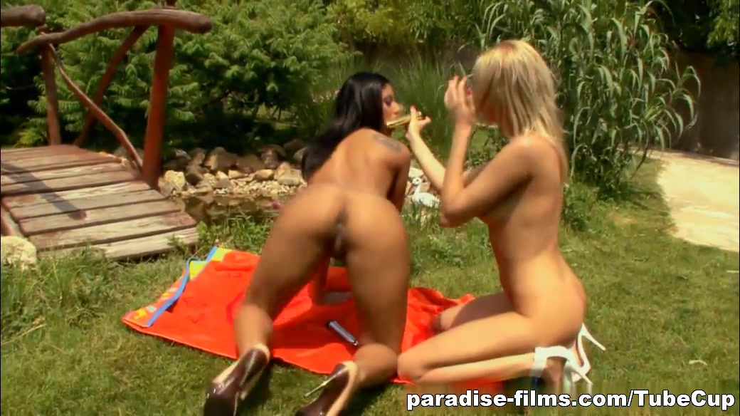 Paradise-Films Video: Girl On Girl Kinky Action facefucking deep throating gifs