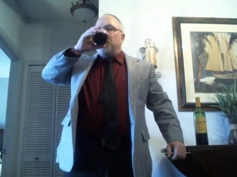 Mature Suit Strip (with Red Wine!) Usa hot model photo