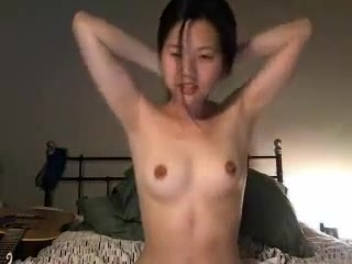 Asian Camgirl Cums with Wand Interactive sex dcd