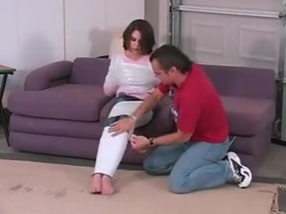 Mandi feels a little stiffness boys in the hood sex scene