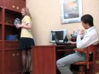 Fuck the Maid - Cleaning is Office then his Pipes