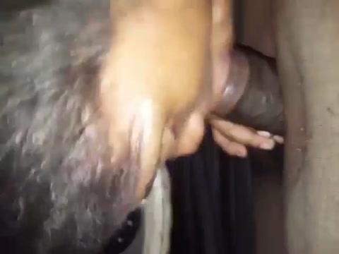 Ebony wife homemade oral