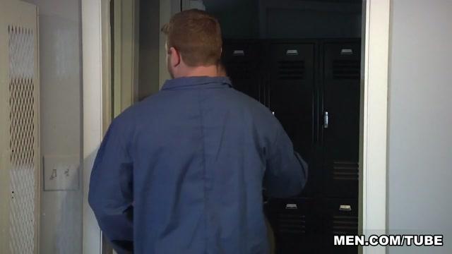 Brendan Phillips & Colby Jansen in Janitors Closet Part 2 - BigDicksAtSchool anal bum cover snl
