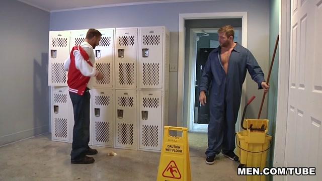 Colby Jansen & Rod Pederson in Janitors Closet Part 1 - BigDicksAtSchool Open About Sexuality