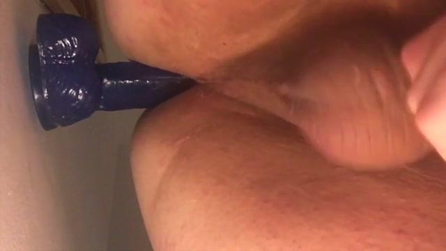 11 inch blue wall dildo Milf Ass Picks