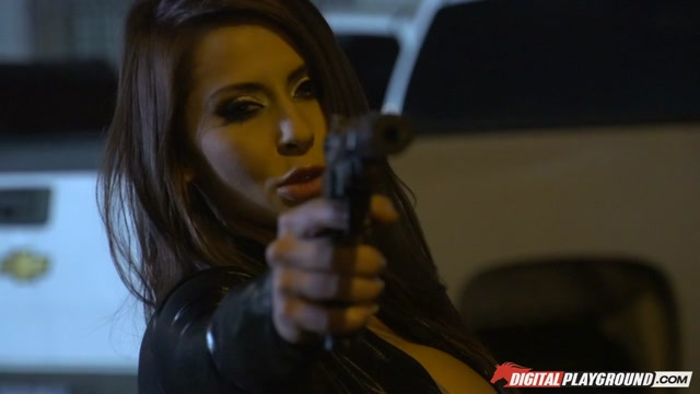 Madison Ivy & Bill Bailey  in No Way Out, Scene 7