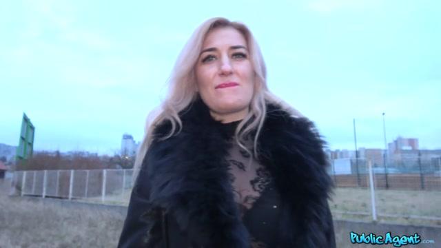Dayana Ice & Martin Gun in Blonde With Butterfly Arse Tattoo - PublicAgent Porn multi pass