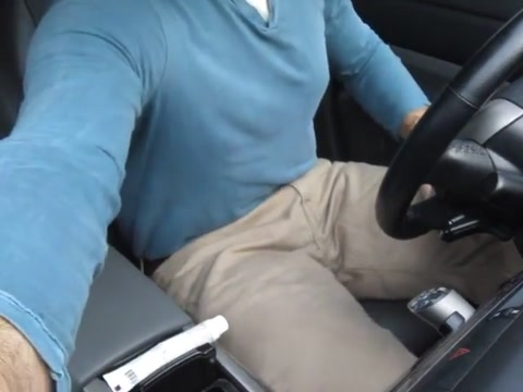 Car talk with a wank! Sex objects for women