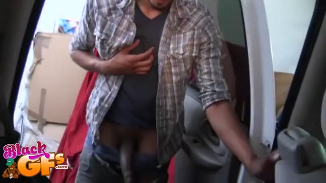 Black babe gets facial cumshot in a car Mature High Def Porn
