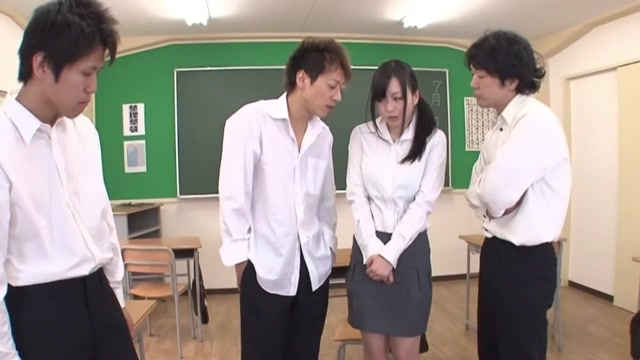 Nozomi Hazuki Uncensored Hardcore Video Japanese Mom Gangbang