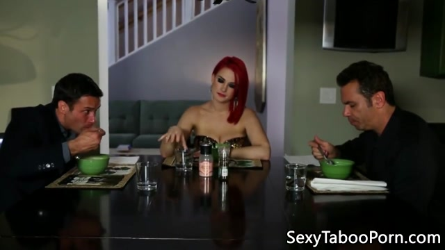 Alternative redhead slut enjoys chokeplay Ass azz back backside badunk booty bottom butt thong