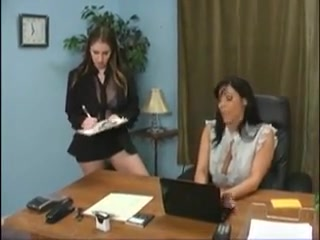 Two female employees punishing their bitchy boss Aouth african milf
