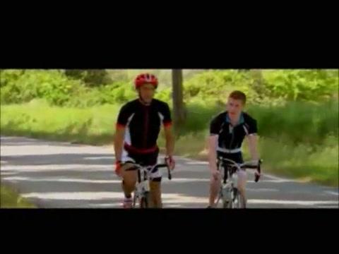 Trois mecs en tenu de cycli First date then in Puerto Barrios