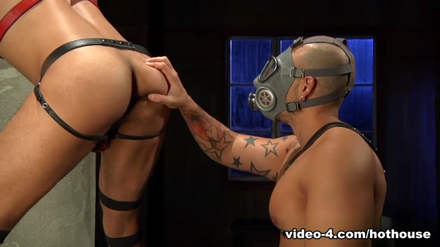 Jordano Santoro & Franco Ferarri in The Dom Scene Girl masturbates watches a couple fucking