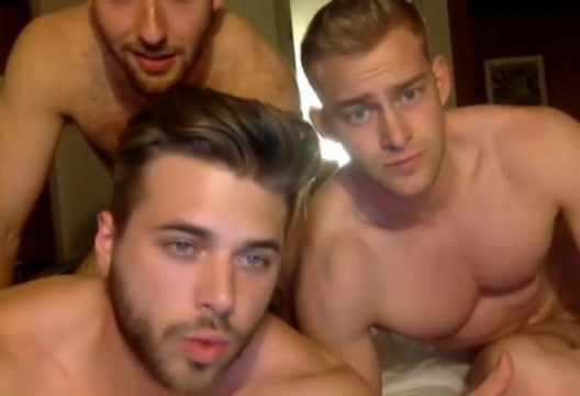 3 muscle bi-curious boys sucking cock have fun on cam mature women looking for sex in scotland