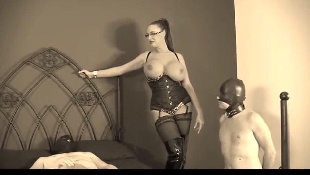 Busty Mistress 2 Slaves #1 (Recolored) Granny Stocking Tube