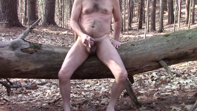 Slow Motion Multiple Orgasms on a Log - Spunk is Sexy #8 punch her in teh boobs