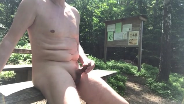 Naked at the forest rest area Funny things to start a conversation