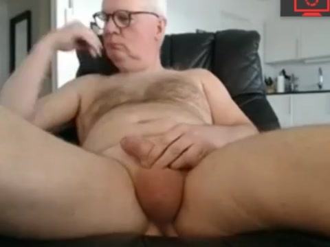 grandpa jerk off his cock Milf footjob cures blue balls