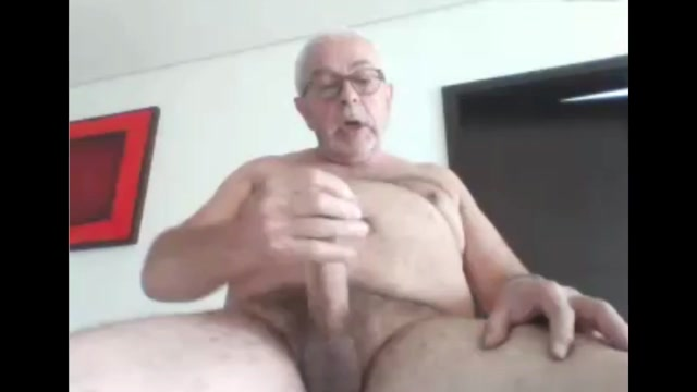 Sexy grandpa stroke and cum on cam Latina Interracial Gangbang