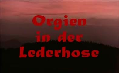 Orgien in der lederhose