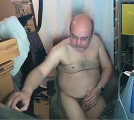 Grandpa stroke and play with a dildo raw lesbian boob sex