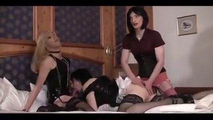 Trans-Lesbian Games Small tits twerking handjob dick load cumm on face