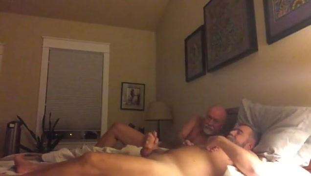 Grandpa couple have fun in bed porn hub wives first threesome