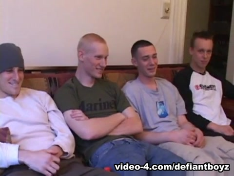 Five Young Dudes Jacking Off - DefiantBoyz Best Tight Wet Teen