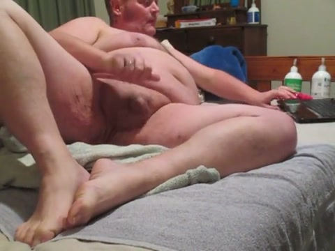 Fat man wanks with a large butt toy inserted free porn with bbw