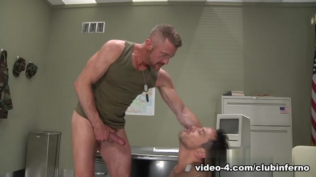 Evan Matthews & Rex Gravis in Armed Services , Scene #02 sex with hubby watching