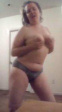 Perfect round ass hot blonde