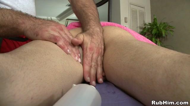 Men with ink think their tough Scene - RubHim anal training joslyn james