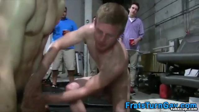 Amateur pledges oil wrestling Teen Fuuck