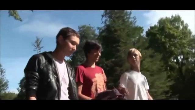 junior guys - bareback at the lake Round Ass Porn