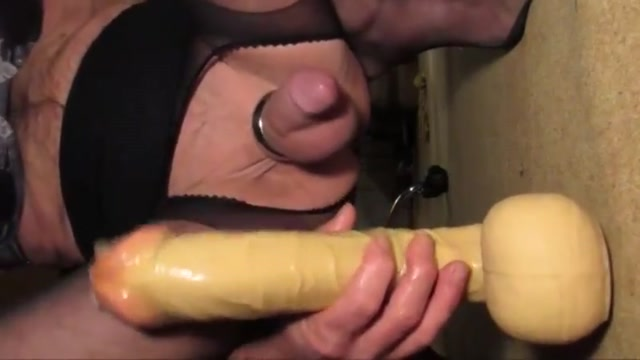Prostate Milking with Huge 13 inch Dildo Vtp messages types